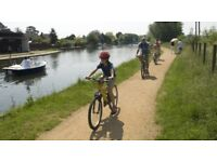 Family Cycle at Lee Valley