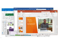 -MICROSOFT OFFICE 2016 PRO PC 32/64-