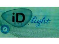 FREE ID light incontinent pads