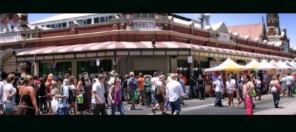 Fremantle Market Food stall