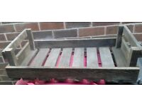 Wooden farm tray / apple tray / bushel / chitting tray. Ideal for business / garden