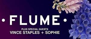 FLUME TICKETS 15TH OF DECEMBER X4 Narre Warren South Casey Area Preview