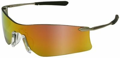 Crews Rubicon Safety Glasses Sunglasses Metal Frame Fire Mirror Lens ANSI Z87, used for sale  Shipping to Canada