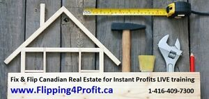 """Learn """"How to Fix & Flip Houses"""" to make instant profit"""