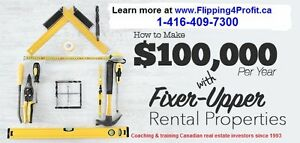 Peterborough real estate investors,Flip Houses Crash Course