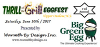 """4th Annual """"Thrill of the Grill"""" BBQ & Eggfest"""