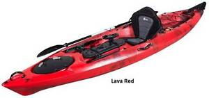Scorpio TERMINATOR 12 SOT Fishing Kayak PLUS paddle PLUS backrest West Gosford Gosford Area Preview