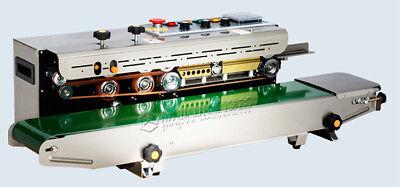 220volt Industrial Frd-1000-ss Horizontal Continuous Band Bag Sealer Ink Coder