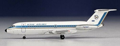 Aeroclassics ACN11181 Aloha Airlines BAC-111 N1118 Diecast 1/400 Model Airplane