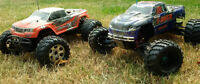 R/C SavageX / T-Maxx Nitro Truck Set 1/10 scale lots of extras