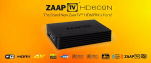 ZaapTV 609 Zaptv HD609 TV Media Player 3 Year Arabic Live IPTV