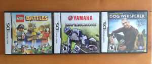 DS Games $2 each