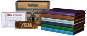 The Legend of Zelda Boxed Set - Game Guides only 50,000 made