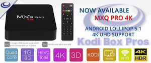 MXQ Pro 4K Ultimate Android Tv Boxes Only $56!