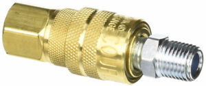 Milton S711 1/4 Inch NPT Female Body M Style Coupler and Plug