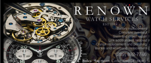 WATCH REPAIR SERVICE AND QUICK BATTERY REPLACEMENT
