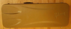 Gibson Les Paul Gold hard shell case (open to trades)