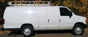 2007 Ford E-250 Extended Cargo Van great for tradesperson!!