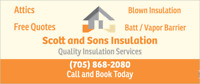 Scott and Sons Insulation !!! Attic Special!!!