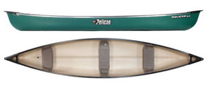 Pelican Sport 15.5 ft canoes in green Only $599.99!