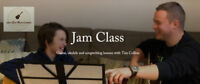 JAM CLASS - Guitar / ukulele / songwriting lessons - TIM COLLINS
