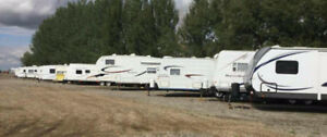 Tons of IN TOWN space available for RV, CAMPERS, BOATS etc...