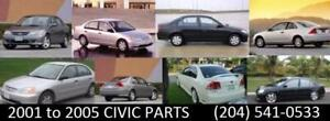 2001-2011 Honda Civic Parts