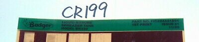 Microfiche Badger Farm Equipment Parts List-liquid Manure Spreader Tank Bn330