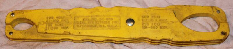 Fuse Puller  Ideal Industries  Cat. No. 34-003  600 V, 250V  FUSES   USA TOOL