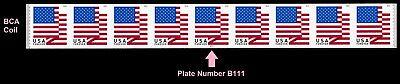US Flag forever PNC9 BCA B111 MNH 2018