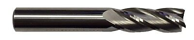 12 4 Flute Carbide End Mill - Regular Length