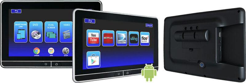 """Voxx AVXSB10UHD Dual 10.1"""" Hi-Res Touch Screen Monitors"""