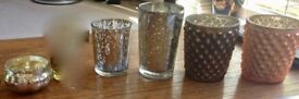Silver, Bronze & Copper Tea Lights