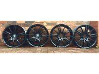 "Genuine Set of BMW 18"" Staggered MV3 Alloy Wheels!"