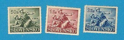 WKII Slowakei komplett  Nr. 88-90  selten  **  !!
