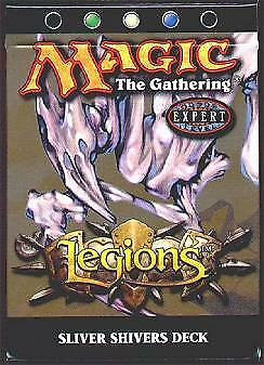 Legions Theme Deck Sliver Shivers (ENGLISH) FACTORY SEALED NEW MAGIC ABUGames - Legions Theme Deck