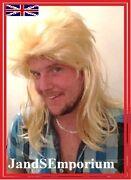 Mens Blonde Wig