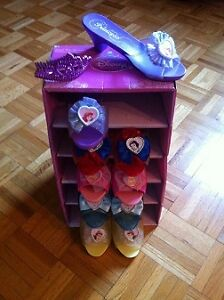 COLLECTION 5 PAIRES DE SOULIERS PRINCESSES DISNEYS