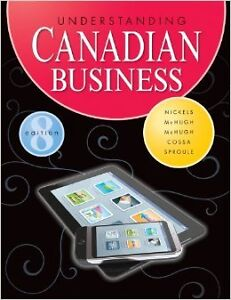 Understanding Canadian Business 8th ED 9781259066627 London Ontario image 1