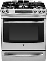 GE SLIDE IN GAS STOVE/RANGES!!--CHECK OUT THE SELECTION!