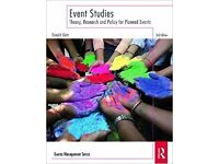 Event Studies - 'Theory, Research and Policy for Planned Events' by Donald Getz