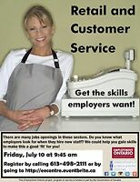 Retail and Customer Service - Get good at it at EEC!