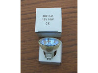 Replacement Halogen Lamps/Bulbs for Fibre Optic Flowers, Christmas Trees, Novelty Items Household