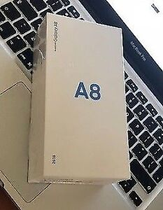 Brand New sealed in box samsung A8 phone unlocked . Only 460$