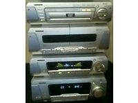 technics cd/dvd seperates hifi player