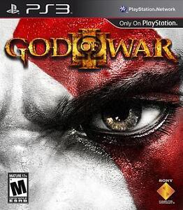 God of War 3 mint condition, $20 OBO will deliver
