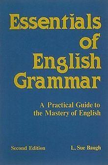 Essentials of English Grammar von L. Sue Baugh | Buch | Zustand gut