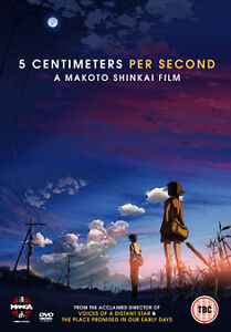5 Centimeters Per Second - Manga - New DVD