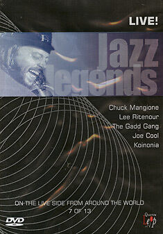 JAZZ LEGENDS MANQIONE RITENOUR GADD - DVD - REGION 2 UK