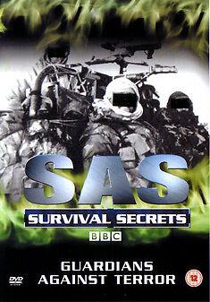 DVD:SAS SURVIVAL SECRETS-GUARDIANS AGAINST TERROR - NEW Region 2 UK